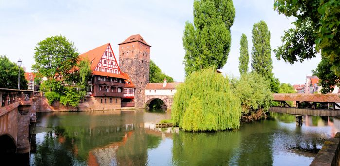 Nuremberg, Germany Panoramic