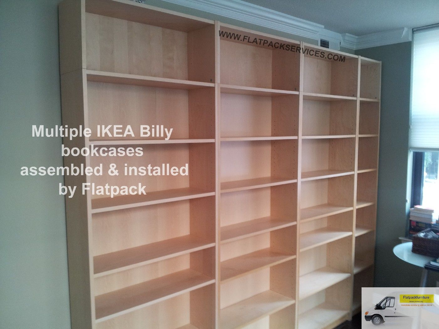 IKEA Billy Bookcase assembly by Flatpack in Arlington, VA