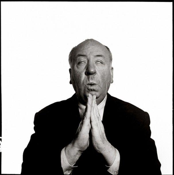 Hitchcock-por-Richard-Avedon