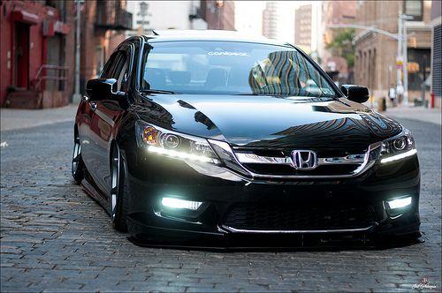 Slammed Late Model Honda Accord