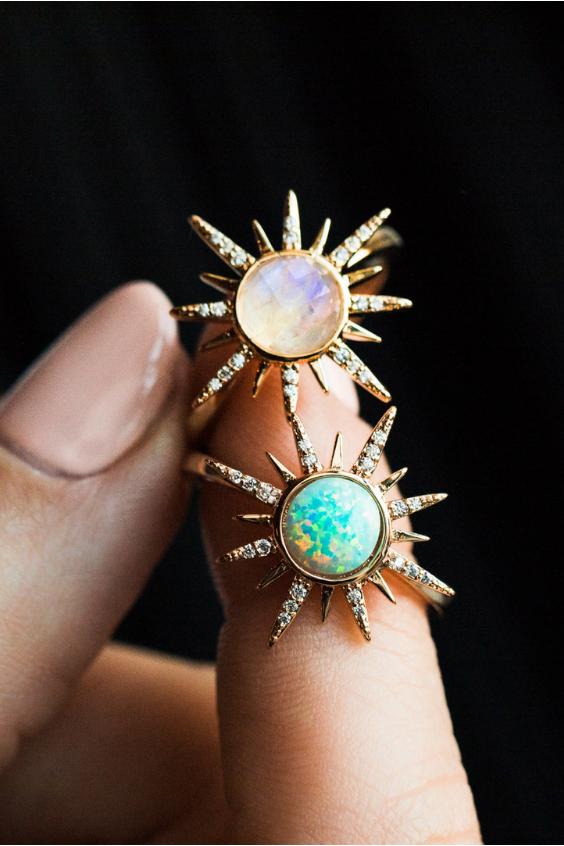 Photo of Starburst Rings