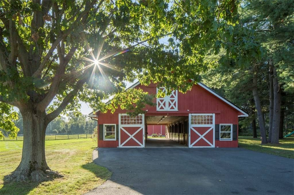 Hopewell new jersey horse barn with images luxury