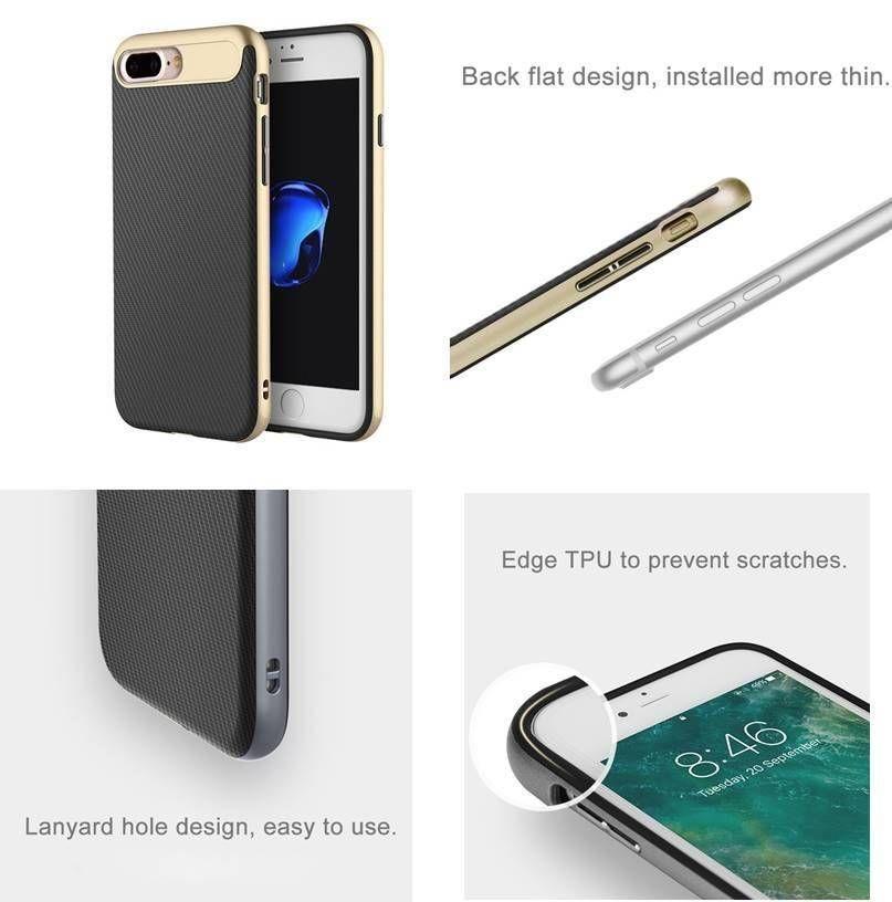 carcasa iphone 7 plus plastico