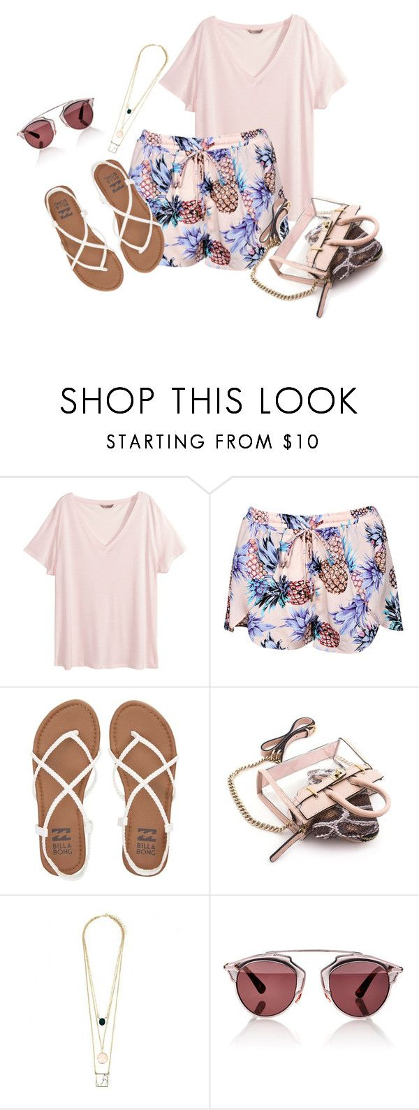 """""""Untitled #47"""" by explorer-14546802142 ❤ liked on Polyvore featuring H&M, Billabong, Mohzy and Christian Dior"""