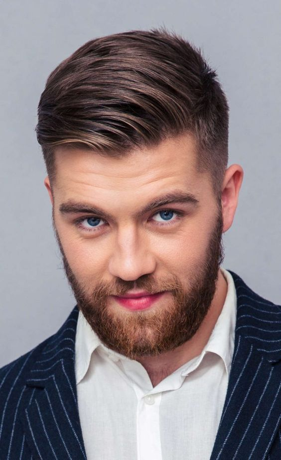 Simple Stylish Short Haircut For Men To Try This Year Mens Haircuts Short Business Hairstyles Stylish Short Haircuts