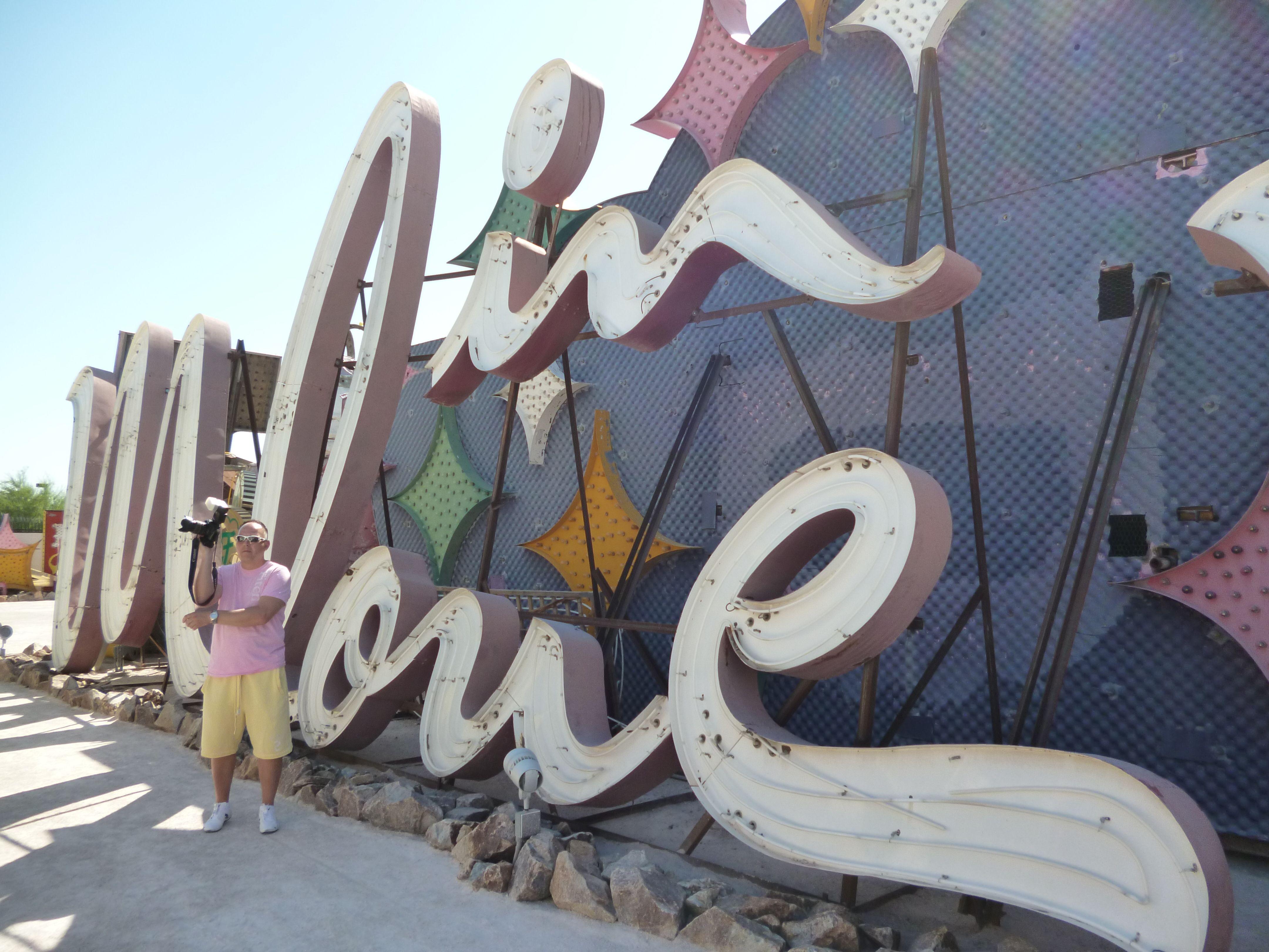 Moulin Rouge Sign.  Inside the Neon Museum Boneyard, Vegas.