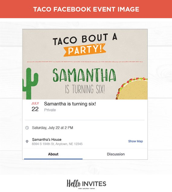 taco birthday facebook event