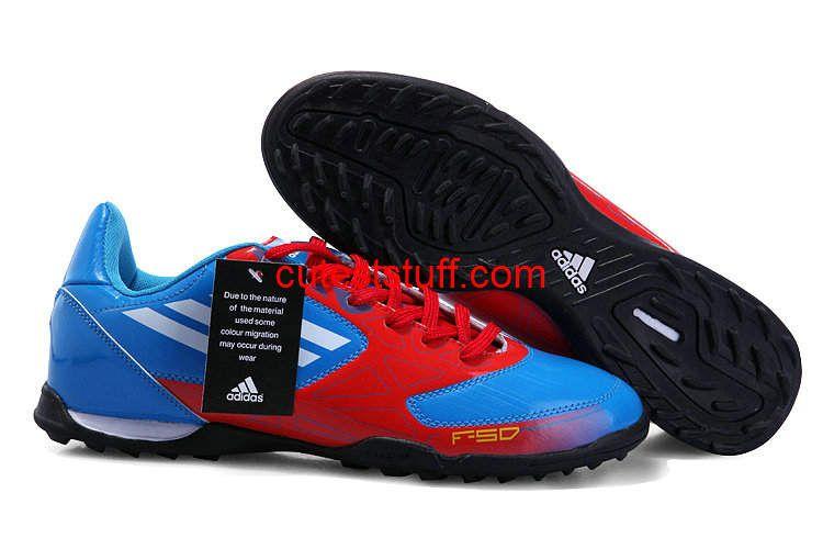 Adidas F50 Adizero TRX TF Blue Red White