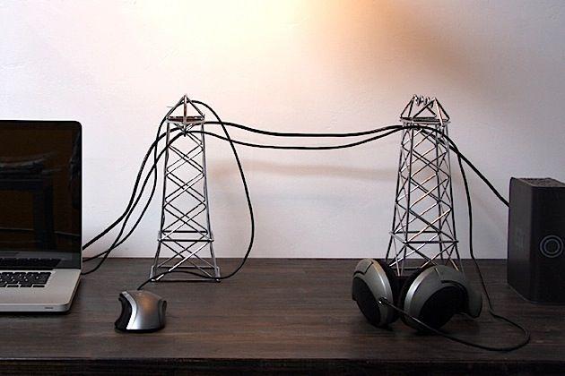 Power Lines – Hochspannungsmasten für den Schreibtisch | KlonBlog