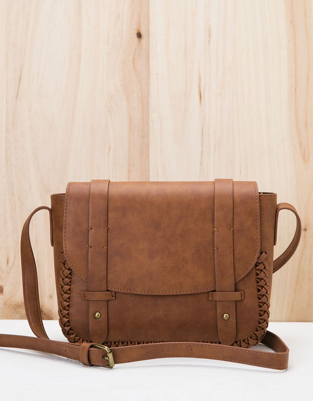 05149ad0348 BSK braided college bag. Discover this and many more items in Bershka with  new products every week