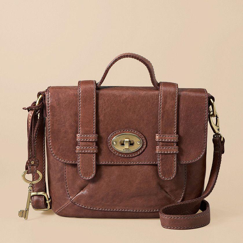 i love this! classic brown crossbody purse