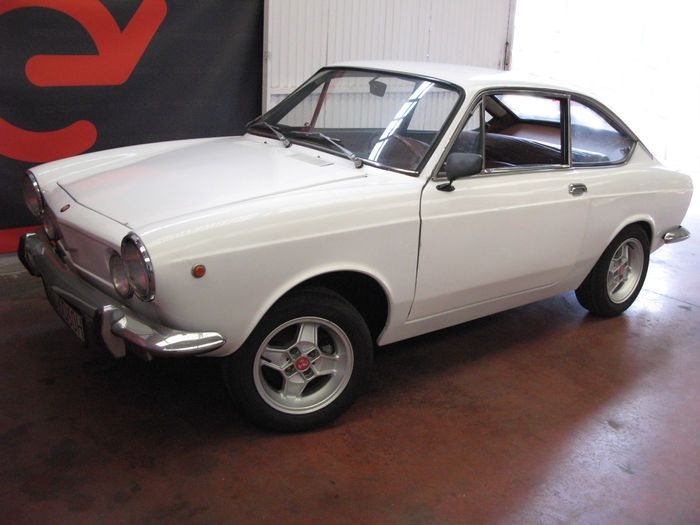 Fiat 850 Sport Coupe 1969 Fiat 850 Sport Motor