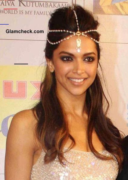 Melhores acessórios para o cabelo indian deepika padukone ...