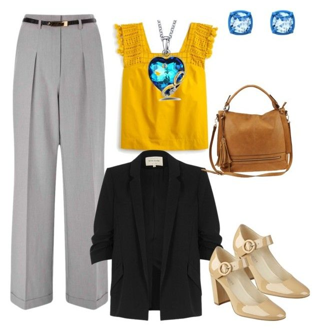 """""""Business IV"""" by oespinal on Polyvore featuring moda, Miss Selfridge, J.Crew, River Island, Urban Expressions y Atelier Swarovski"""