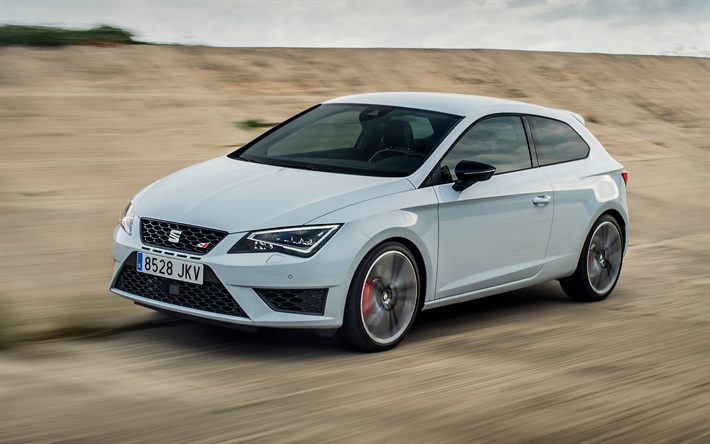 Download Wallpapers Seat Leon Sc Cupra 2018 Sports Version