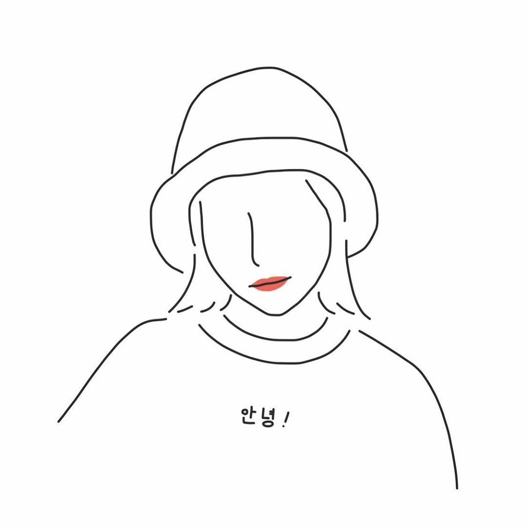 Yuribo イラストはinstagramを利用しています リクエストにお答えして 韓国好き女子 韓国 韓国好きな人と繋がりたい 韓国メイク 韓国ファッション 韓国服 韓国旅行 ピープス女子 帽子 トレーナー リップ 韓国コスメ イラスト イラストレーター デザイン 線画