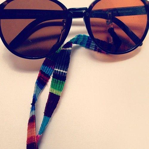 Hip Sunglass Cord  #hipster #ethicalfashion #sunglasses   http://www.hiptipico.com/product/tipico-sunglass-cord/