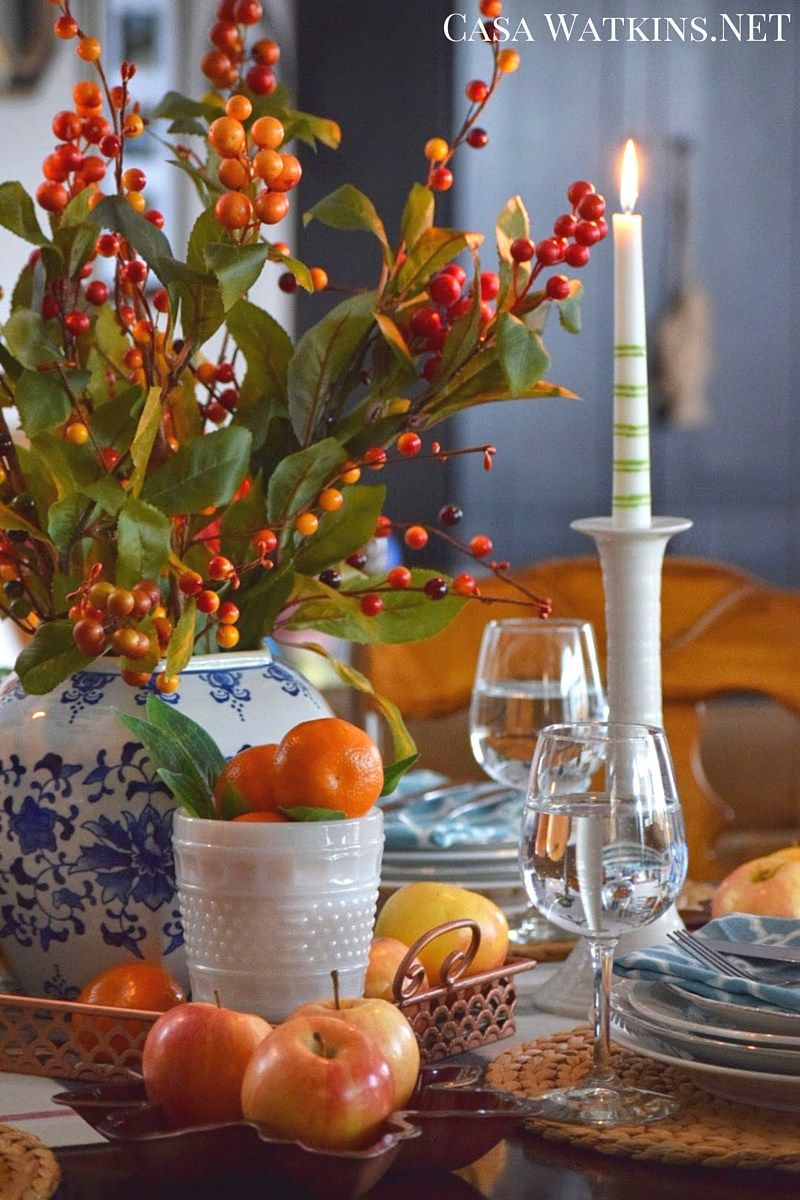 Include Trendy Copper into Your Thanksgiving Tablescape: Create and ...