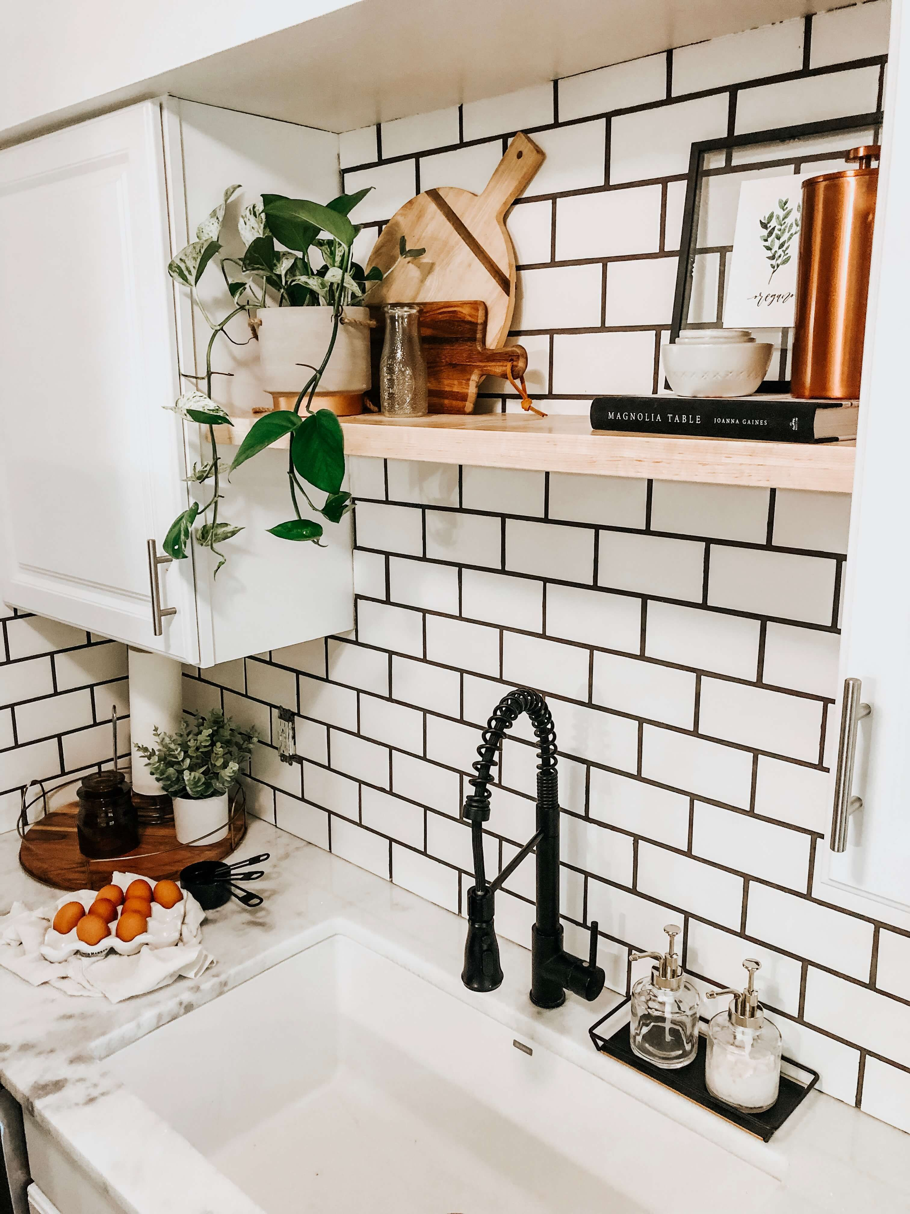 Modern Farmhouse Kitchen Reveal | What Molly Made