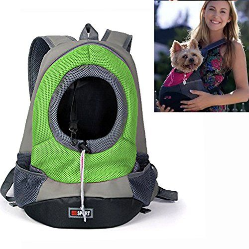 Yamay Pet Dog Carrier Front Pack Carrying Backpack Zipper Carry