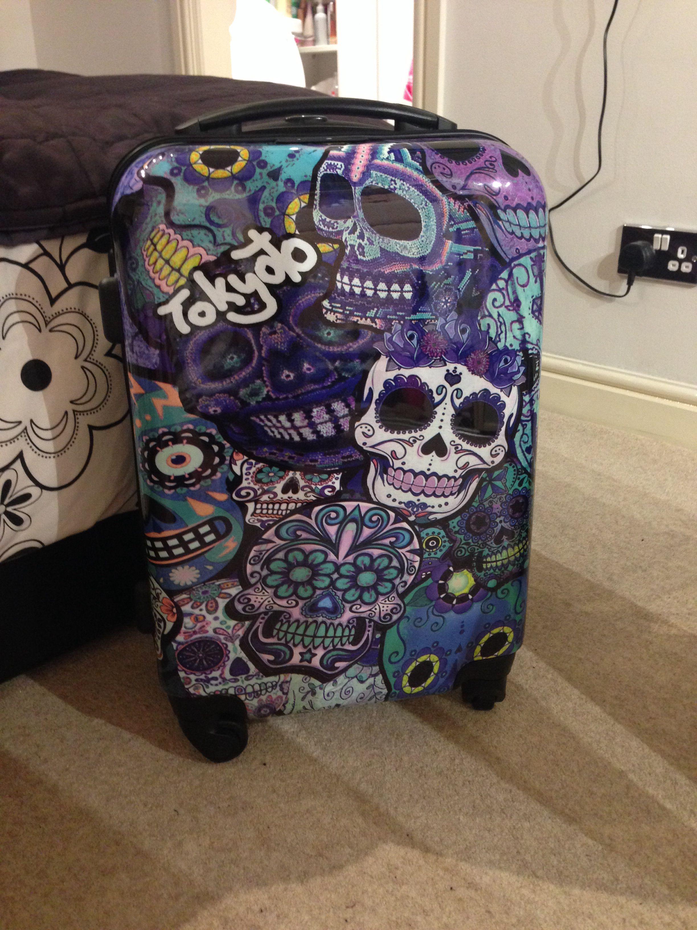My lovely tokyoto suitcase xx