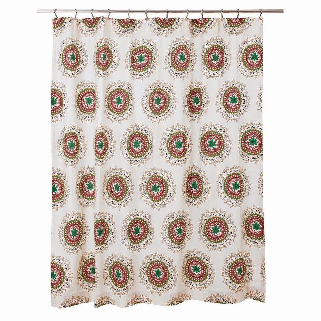 Bermuda Shower Curtain Products Curtains Primitive Bathrooms Bathroom