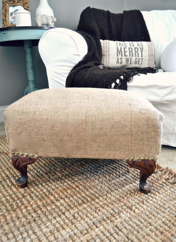 Ideas para decorar tu casa con tela de arpillera | Tela de arpillera ...