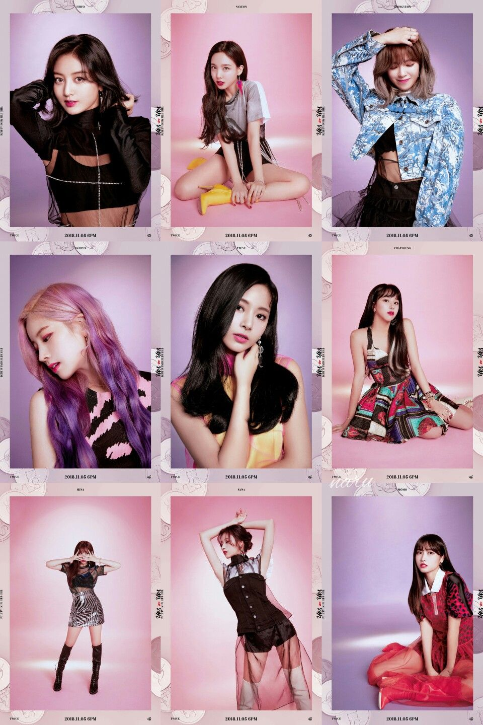 "Yes Or Yes Twice Twicemedia: TWICE THE 6TH MINI ALBUM ""YES Or YES"""