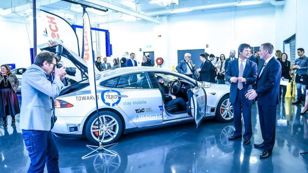 Australia S First Self Driving Car Unveiled In Victoria Http Ift