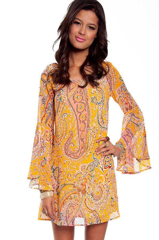 d500ac897 Woodstock Shift Dress ~ TOBI | wedstock: hippie party | Dresses ...