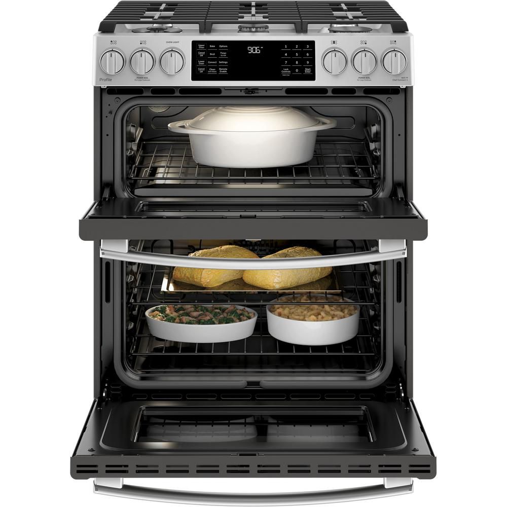 Ps950efes Ge Profile Series 30 Slide In Double Oven Electric