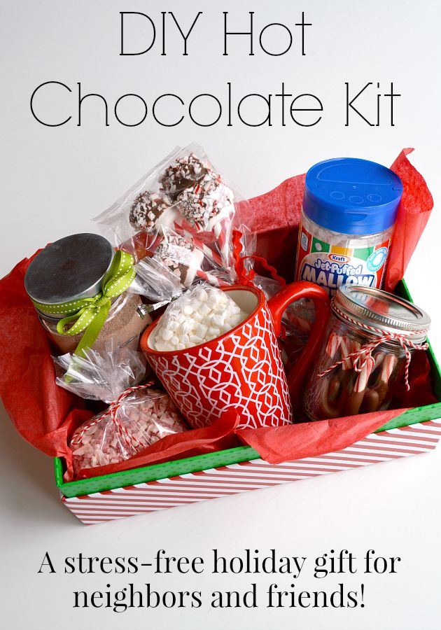 Easy Neighbor Christmas Gift Who Doesn T Love Hot Chocolate