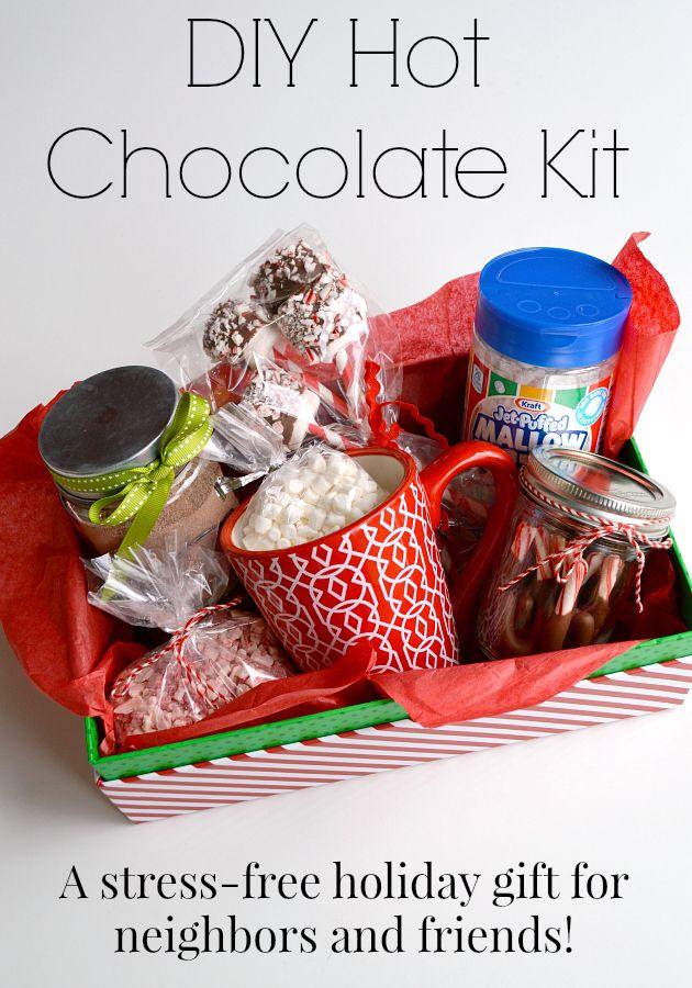 DIY Hot Chocolate Kit Diy christmas gifts hot chocolate