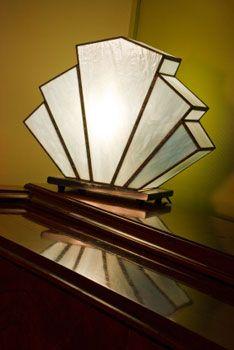 Lampe Art Nouveau style | FINN.no