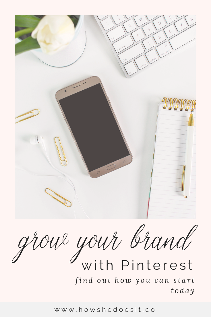 How To Grow Your Brand Drive Traffic To Your Website With Images Pinterest Marketing Course Pinterest For Business Blog Traffic