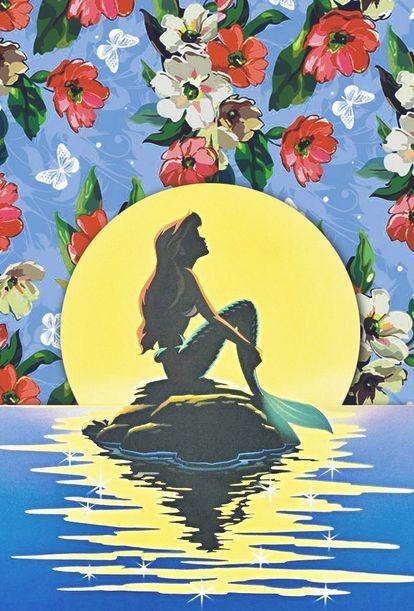 リトルマーメイド アリエルの壁紙に使える画像まとめ ディズニー Naver まとめ Disney Wallpaper Wallpaper Iphone Disney Disney Art