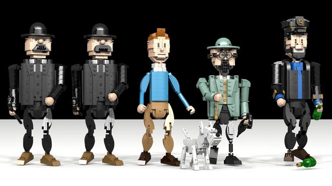 LEGO Ideas  TINTIN  Tim und Struppi  Lego  Pinterest  Tintin