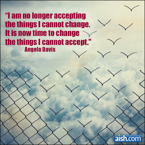 Quote Of The Day: Accepting Versus Changing