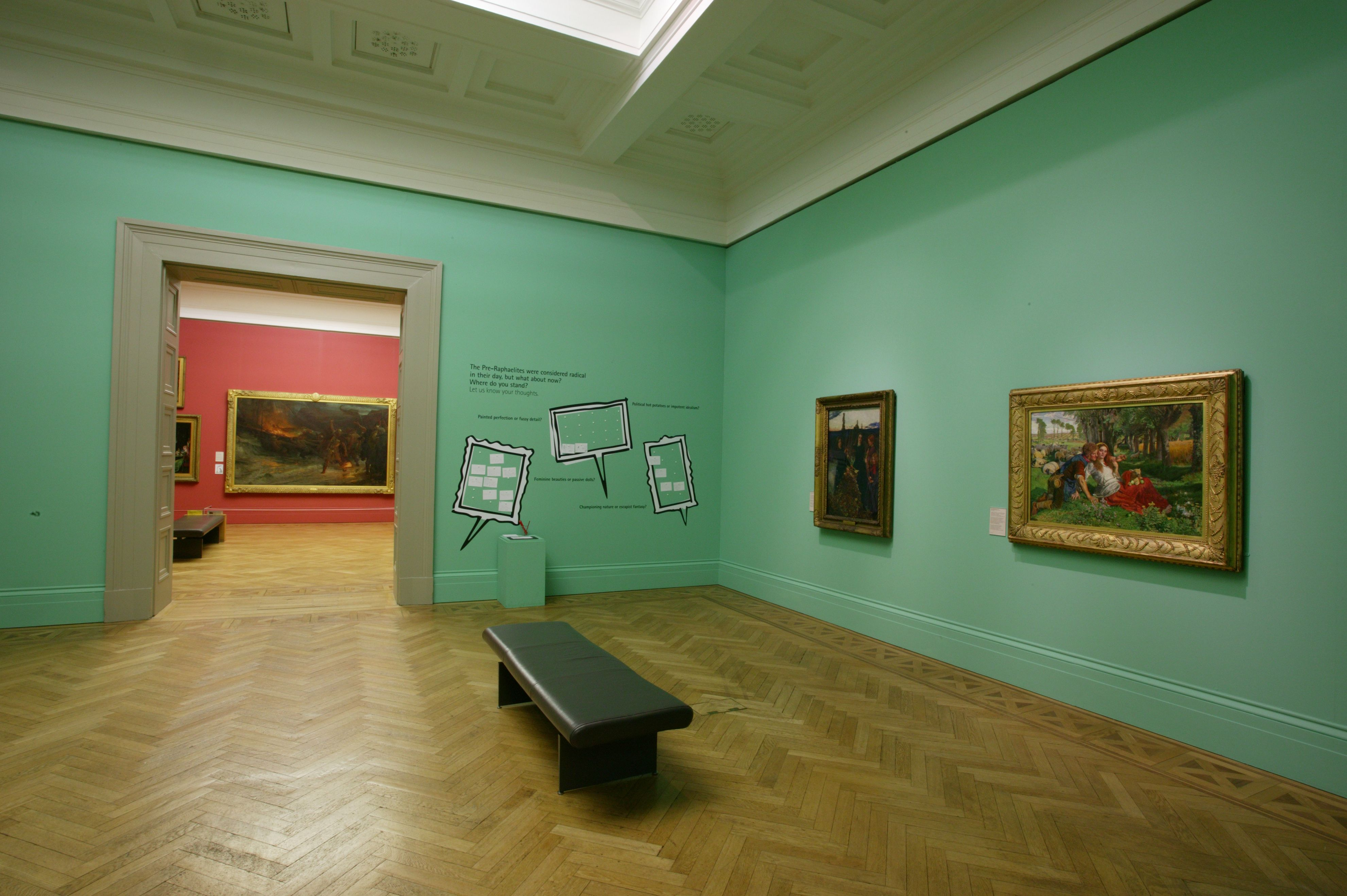 Manchester Art Gallery Walls In Farrow Ball 39 S Arsenic I