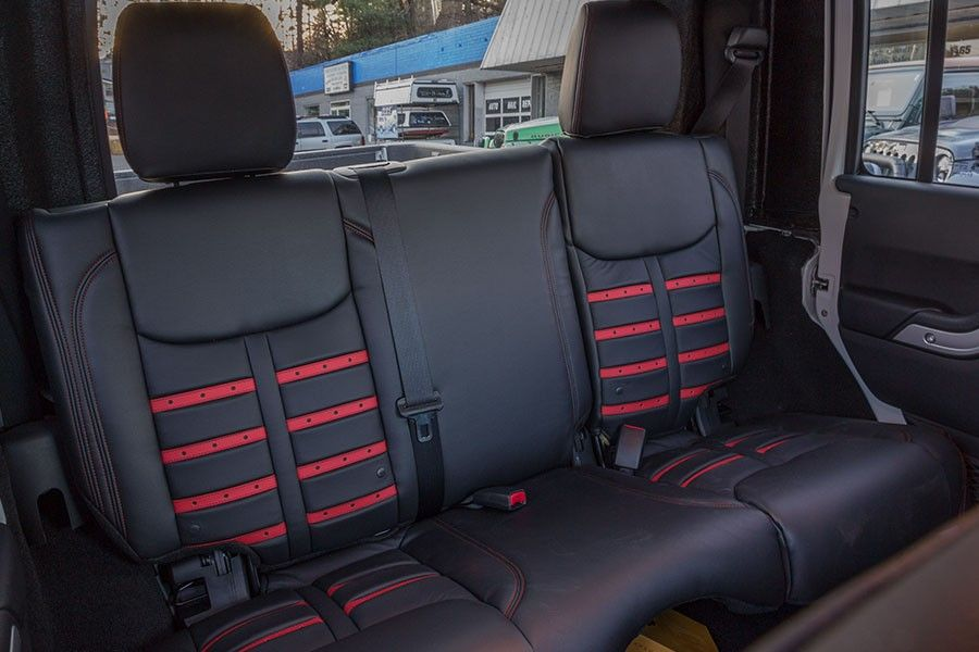 Alea F 1 Leather Interior For Wrangler Jk Jeep Wrangler Interior