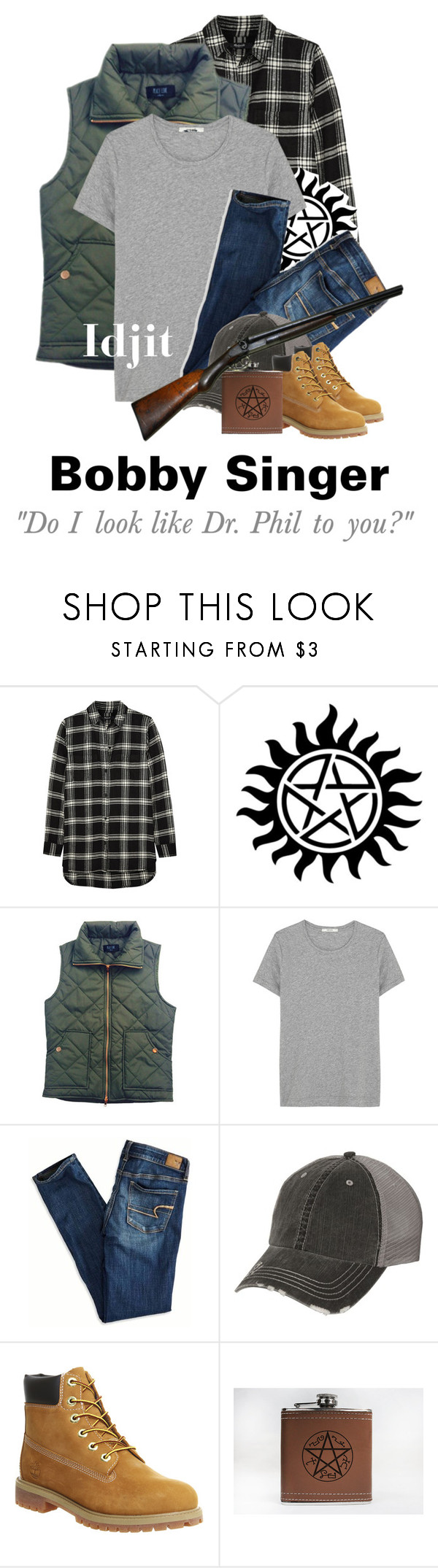 """""""Day 13: Favorite Bobby Scene"""" by parisinblackandwhite ❤ liked on Polyvore featuring Madewell, ADAM, American Eagle Outfitters and Timberland"""