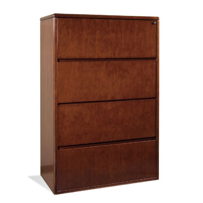 Wood 4 Drawer Lateral File Cabinet Filing Cabinet Lateral File Cabinet Lateral File