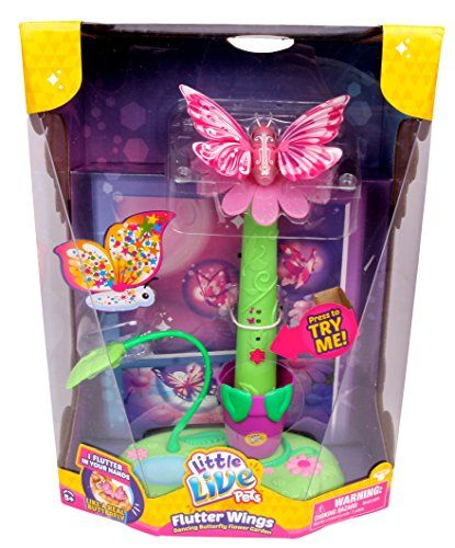 Little Live Pets Flutter Wings Dancing Butterfly Flower Garden Little Live Pets Http Www Amazon Com Dp B00ua91 With Images Little Live Pets Toys For Girls Gifts For Kids