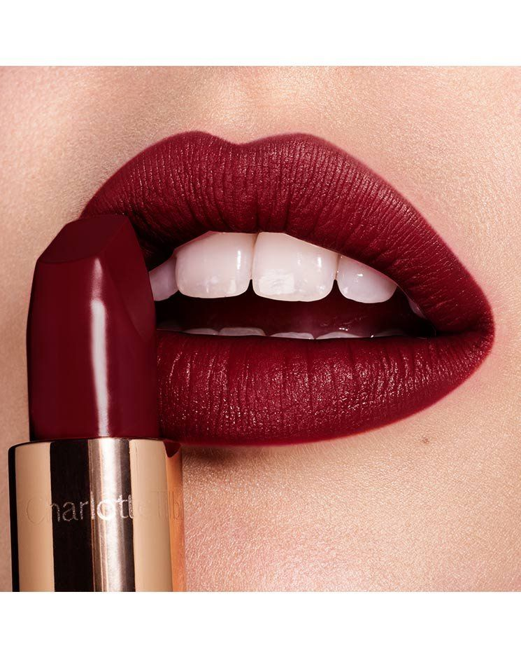 Deep Rich Sultry Red Matte Lipstick Lipstick Lip Colors Red