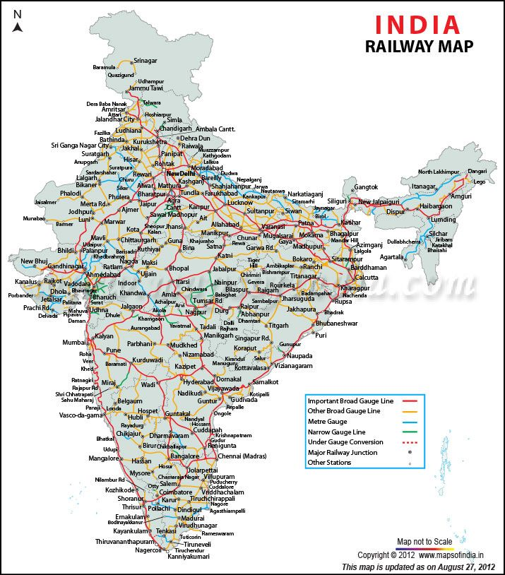 indian railways train route map Indian Railways Has The Distinction Of Being One Of The Biggest indian railways train route map
