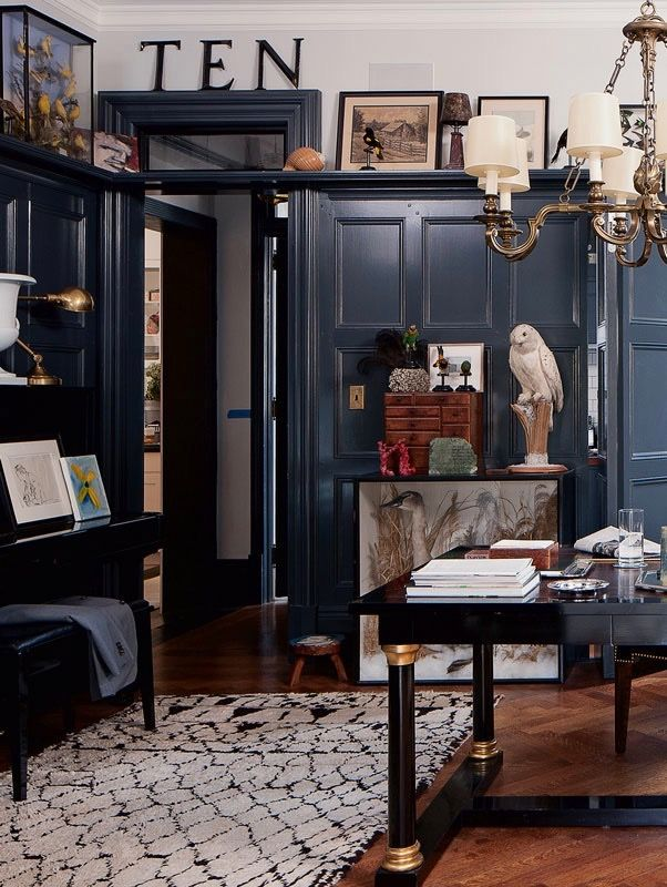 Architect Brian Sawyer S West Village Home Country House Decor