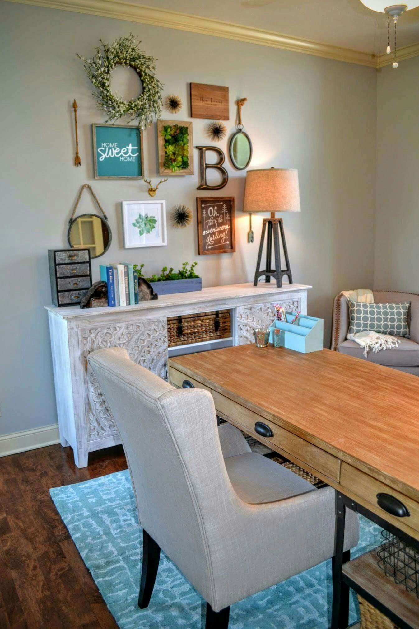 travel design home office. Gallery Wall In Office By Fluff Your Stuff Interior Design Omaha Travel Home