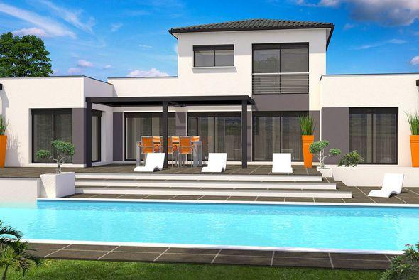 Maison Serendipity  une maison Moderne conçue par lu0027architecte - modeles de maison a construire