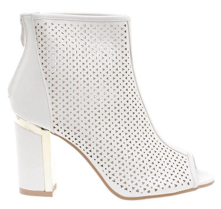 ee6cdc22a15 Μποτάκι - Λευκό | Awesome Shoes | Shoes, Boots και Fashion