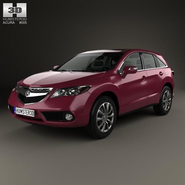 Acura RDX 2013 3D Model #AD ,#RDX#Acura#Model